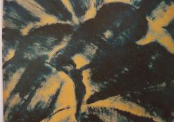 Május 1, 1928, olaj, papír, 25x31,5 cm