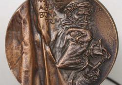 Michelangelo, 2003, bronz, 8,5 cm