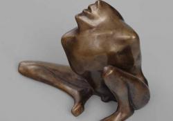 Minotaurus, 1988, bronz, 12 cm