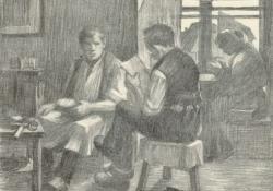 Műhelyben, 1907.