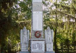 Óhíd hősi emlékműve, 1936, műkő