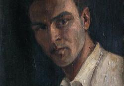Önarckép, 1935, olaj, vászon, 42x34 cm