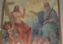 Orosztony, r.k. templom, Szentháromság-oltárkép