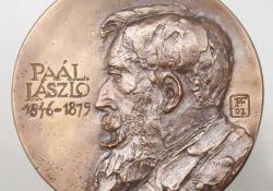 Paál László, 2002, bronz, 9,5 cm
