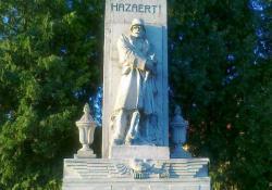 Pacsa hősi emlékműve, 1936, műkő