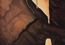 Pál-völgyi barlang, 2006, vászon, olaj, 70x50 cm