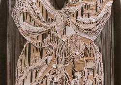 Papillon, 1994, vegyes techn, 160x110 cm