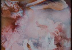 Pegazus, 1990, vegyes techn, farost, 41x41 cm