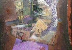 Proudhon-idézet, 1985, olaj, farost