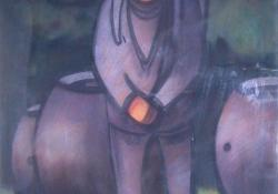 Puttonyos, 1972, akvarell, 80x60 cm