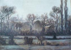 Sass F, Táj boglyákkal, 1926-1927 k, olaj, vászon