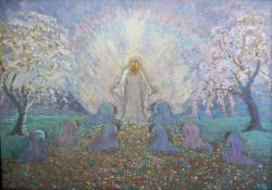 Szellemi újjászületés, 1926-27, olaj, vászon, 70,5x100 cm