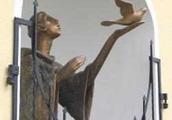 Szent Ferenc, Rax (Ausztria), 2006, bronz