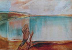 Szent Kristóf a Balatonnál, 1927.