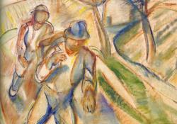 Szüretelők Badacsonyban, 1925. k.