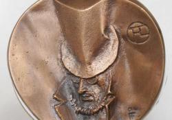 T. Lautrec, 2004, bronz, 7,5 cm