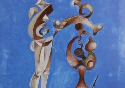 Találkozás, 2003, olaj, farost