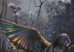 Természet-les II, 2012, vászon, olaj, 80x60 cm