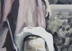 Utalás 2, 2010, olaj, vászon, 50x70cm