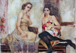 Varsák, 2011, olaj, vászon, 56x71 cm