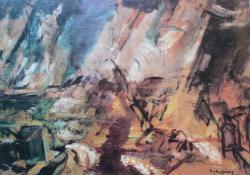 Vihar a Balatonon, 1921. k.