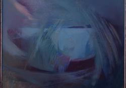 Vízivilág, 1980, olaj, farost, 34x44 cm