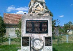 Zalaboldogfa hősi emlékműve, 1936, műkő