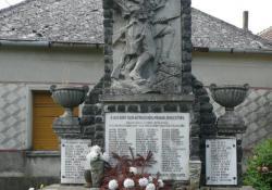 Zalaistvánd hősi emlékműve, 1935, műkő