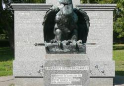 Zalaszentgrót hősi emlékműve, 1937, bronz