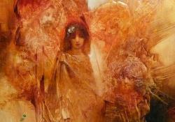 Zsuzsanna és a vének, olaj, vászon, 50x40 cm