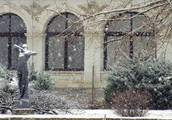 Göcseji Múzeum épülete, 2015 február 09.-én