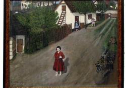 Egy zalai naiv festő képei a Göcseji Múzeumban