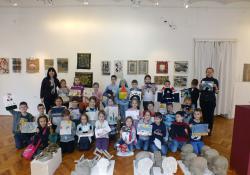 Dózsa iskolások a Göcseji Múzeumban