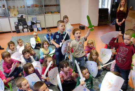"""""""Ostromoljunk várat"""" múzeumpedagógiai foglalkozás, 2015-10-08"""