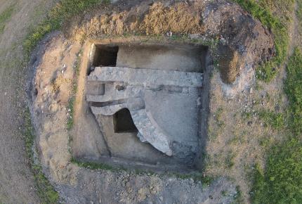 Régészeti feltárás Fenékpusztán