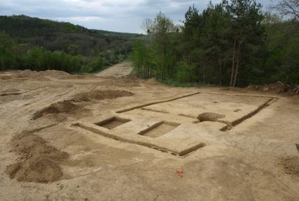 Zalalövő-Kisfernekág ásatás