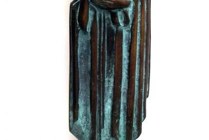 Fischer György: Madonna, 1998, bronz, ltsz. K.2001.13.1.
