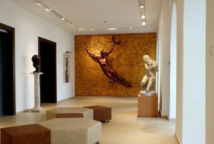 A Göcseji Múzeum előtere