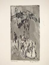 01 Búslakodó, 1967, papír, rézkarc, 20x10,5 cm