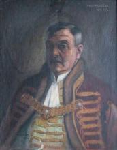 Bosnyák Géza, 1923, olaj, vászon, 70x57 cm