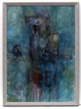 Örök emberpár, 2005, olaj, vászon, 70x50 cm