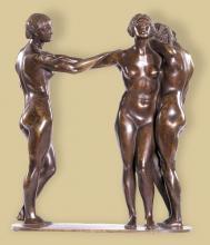 Finálé, 1911, bronz, ltsz. K.76.3.6.